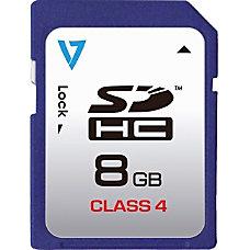 V7 VASDH8GCL4R 1N 8 GB SDHC