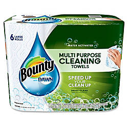 Bounty Water Activated Multipurpose 2 Ply