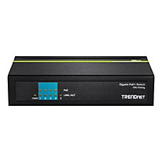 TRENDnet 5 Port Gigabit PoE Switch