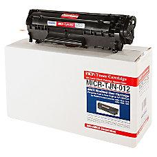 MicroMICR TJN 012 HP Q2612A Black