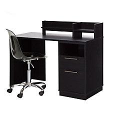 South Shore Academic 2 Piece Desk