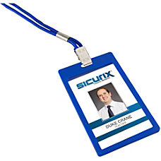 SICURIX Rigid ID Badge Holder 6