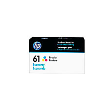 HP 61 Economy Yield Tricolor Ink