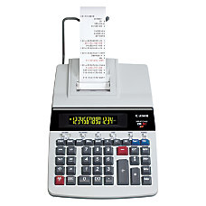 Canon MP41DHIII Printing Calculator BlackRed