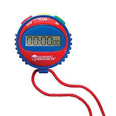 Learning Resources Simple Stopwatch Assorted Colors
