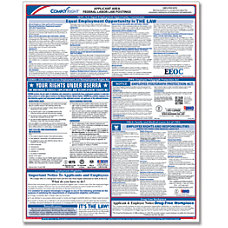 ComplyRight Federal Applicant Area Poster English