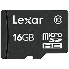 Lexar microSDHC Class 10 Memory Card