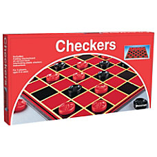 Pressman Toys Checkers Game Ages 6