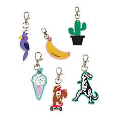 Divoga Rubber Charm Key Chain Fun