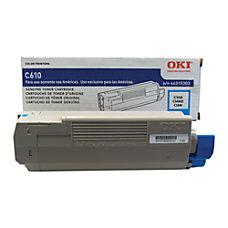 OKI 44315303 Cyan Toner Cartridge