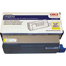 Oki Toner Cartridge Yellow LED 11500
