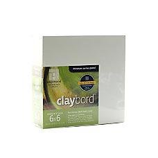 Ampersand Cradled Claybord 6 x 6
