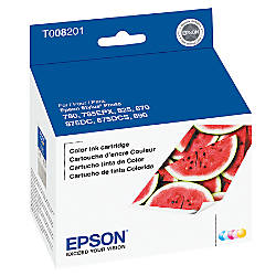 Epson® T008 (T008201) 5-Color Ink Cartridge