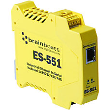 Brainboxes ES 551 Ethernet To Serial