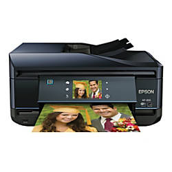 Epson® Expression Premium XP-810 Inkjet Small-In-One® Printer, Copier, Scanner, Fax