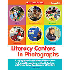 Scholastic Literacy Centers In Photographs