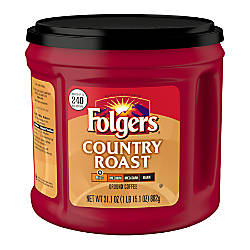 Folgers Country Roast Coffee 311 Oz