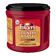 Folgers Country Roast Coffee 311 Oz