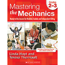 Scholastic Mastering the Mechanics Grades 2