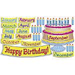 Scholastic Big Birthday Cake Bulletin Board