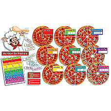 Scholastic Pizza Fractions Bulletin Board Aid