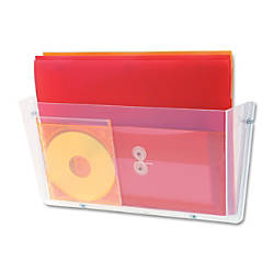 deflecto Unbreakable Plastic Wall Pockets 1