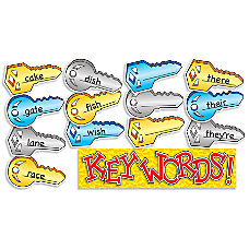 Scholastic Mini Bulletin Board Key words