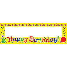 Scholastic Multipurpose Cards Happy Birthday Pack