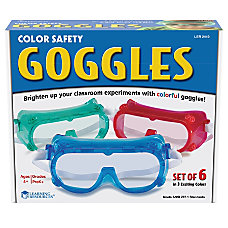 Learning Resources Rainbow Safety Goggles Assorted