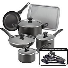 Farberware 15 Piece Cookware Set Black