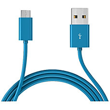MOTA Micro USB Cable Blue 6ft