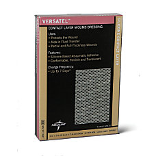 Versatel Contact Layer Dressings 4 x