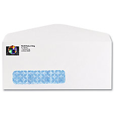 Full Color Window Security Business Envelopes