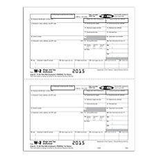 ComplyRight Tax Forms W 2 InkjetLaser
