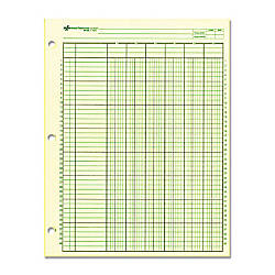 Rediform National Side Punched Analysis Pads