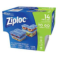 Ziploc Food Storage Container Set 4