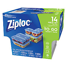 Ziploc Food Storage Container Set 4