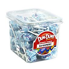 Dum Dum Lollipops Blue Raspberry 1