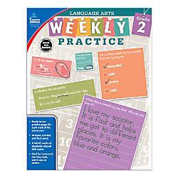 Carson Dellosa Language Arts Weekly Practice