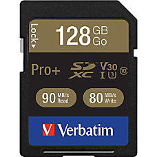 Verbatim Pro 128 GB SDXC