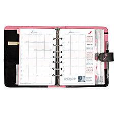 Day Timer Pink Ribbon Organizer Starter