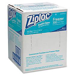 Ziploc Quart Freezer Bags 270 mil