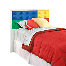 Sauder Primary Toy Block Furniture Headboard