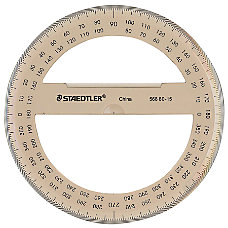 Staedtler 100percent Recycled 6 Protractor 360