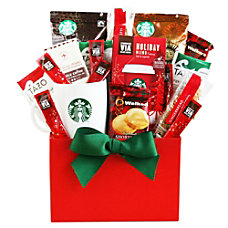 Givens Gift Basket Holiday Coffee And