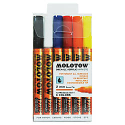 MOLOTOW One4All 2mm Acrylic Markers Basic