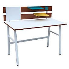 Lumisource Bench Desk 35 H x
