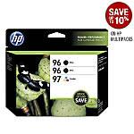 HP 969697 BlackTricolor Original Ink Cartridges