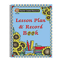 Teacher Created Resources Sunflowers Lesson Plan