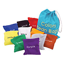 Learning Resources Colors Bean Bags Pack